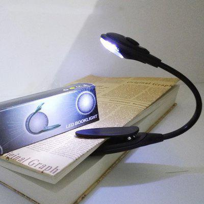 LED Reading Lamp Mini Night Light with Clip