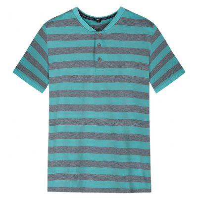 FREDD MARSHALL Men's Short Sleeve Stripe T-Shirt