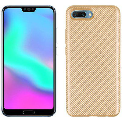 Case for Huawei Honor 10 Soft Carbon Fiber Cover