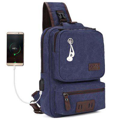 VICUNAPOLO Hombre One Strap Chest Bag