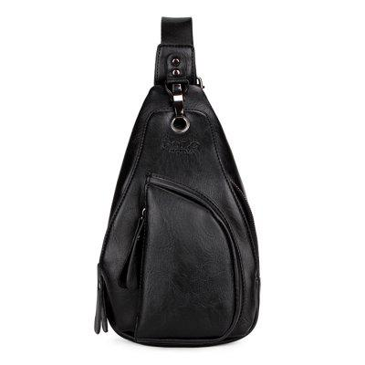 VICUNAPOLO Men Leisure Anti-theft PU Chest Bag