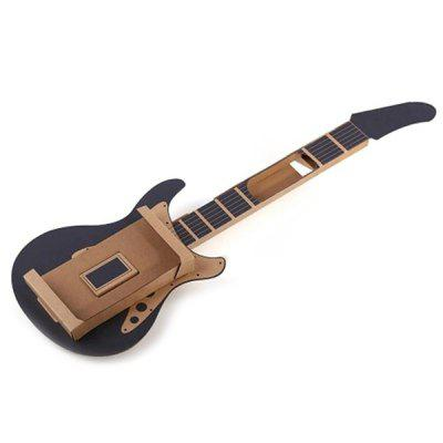 LABO NS DIY Cardboard Guitar afanti music diy guitar diy electric guitar body aqt 008