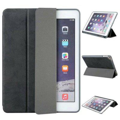 Multi-angle Stand Folio Case with Pencil Slot for iPad 2018