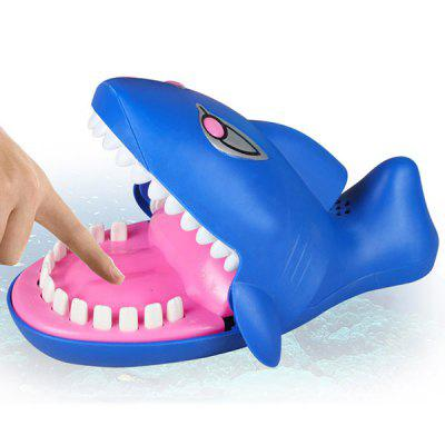 Biting Hand Shark Toy with Light Evil Laughter