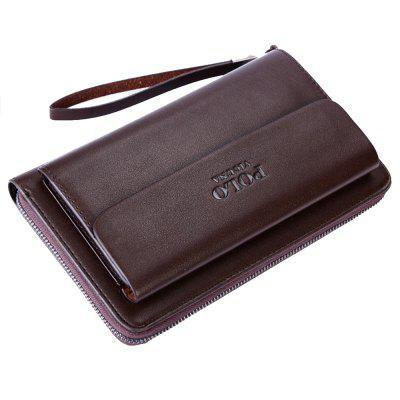 VICUNAPOLO Men Trendy Durable Clutch Wallet