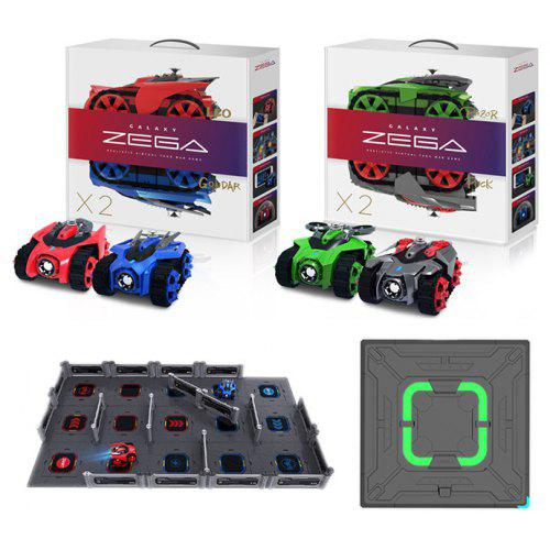 GALAXY ZEGA Smart Battle Racing RC Car Toy Kids Gift 4pcs - MULTI