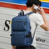 HUWAIJIANFENG Laptop Backpack - BLACK
