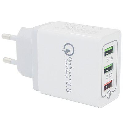 Minismile Qualcomm Quick Charge 3.0 3-Port Po...