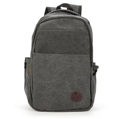 Canvas Leisure Compact Men Backpack