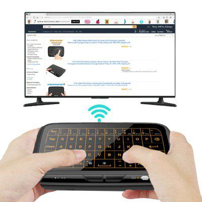 H18 + Backlit Mini Wireless Full Touchpad Keyboard portugal brazil br layout new laptop keyboard with touchpad palmrest for samsung series 5 550p5c np550p5c