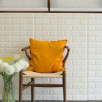 3D Brick Wall Sticker Waterproof with Glue brick pattern decorative wall cover sticker