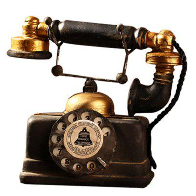 Vintage Telephone Resin Table Decoration 20 13 Free Shipping