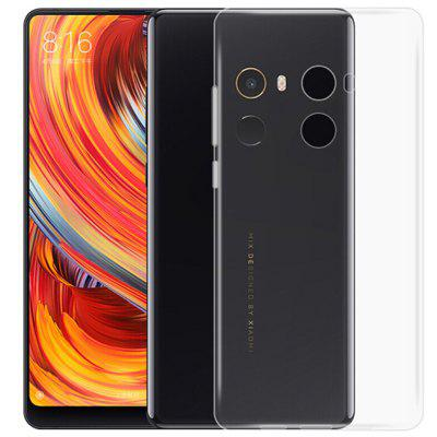Ultra-Thin Tpu Cover Case voor Xiaomi Mi Mix 2 - Doorzichtig