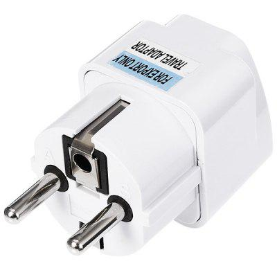 gocomma EU Plug 2 Feet Standard Travel Power Adapter Charger