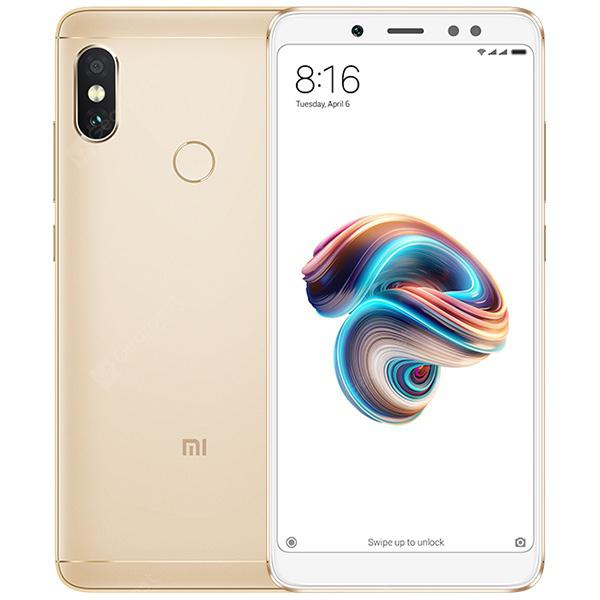 Xiaomi Redmi Note 5 4G Phablet Global Version - GOLDEN 4+64Go