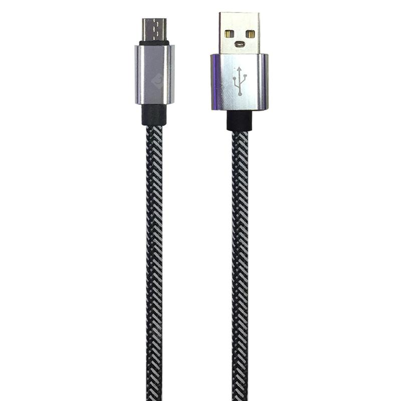 1METER Nylon Micro USB Cable for Samsung HTC Huawei Xiaomi Android Fast Charge Wire