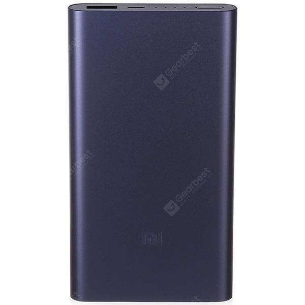 Gearbest Original Xiaomi Ultra-thin 10000mAh Mobile Power Bank 2 - BLACK