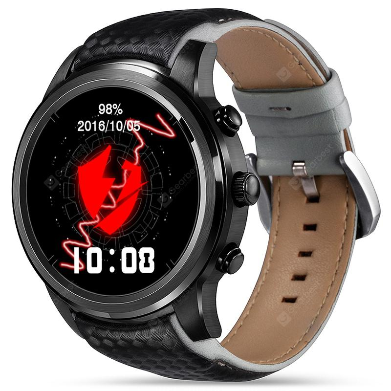 LEMFO LEM5 3G Smartwatch Phone - BLACK