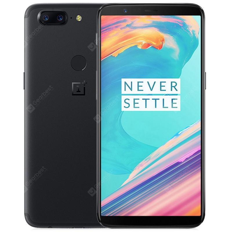 OnePlus 5T 4G Phablet 6GB RAM International Version - Black