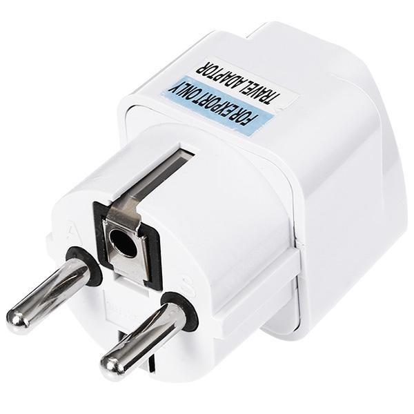 gocomma EU Plug 2 Feet Standard Travel Power Adapter Charger | Gearbest