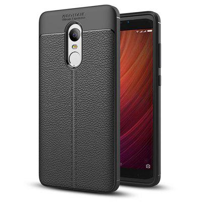 Cover Case for Xiaomi Redmi Note 4X / 4 Luxury Original Shockproof Armor Soft Leather Carbon TPU