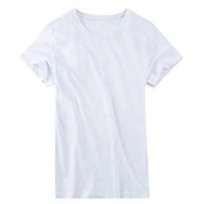 GEORGE TOMMY Men Non-deformed Round Neck T-shirt
