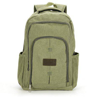 Simple Creative Canvas Men Backpack