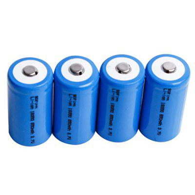 Sofirn ICR 18350 Rechargeable Battery 4PCS