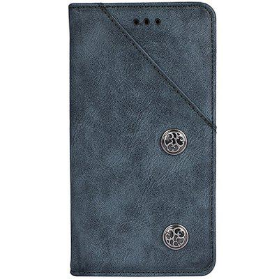 Retro Grain PU Leather Case for Xiaomi Mi Mix 2s