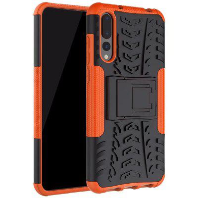 Case for Huawei P20 Pro Cover Shockproof Luxury Leather TPU