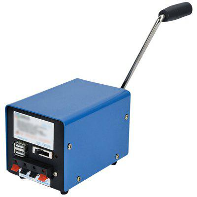 Outdoor Hand-cranked Generator Portable Dynamo whole sales high qualtiy portable commercial ozone generator