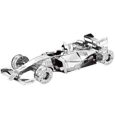 Metal Racing Car 3D Puzzle Kids Model Toy