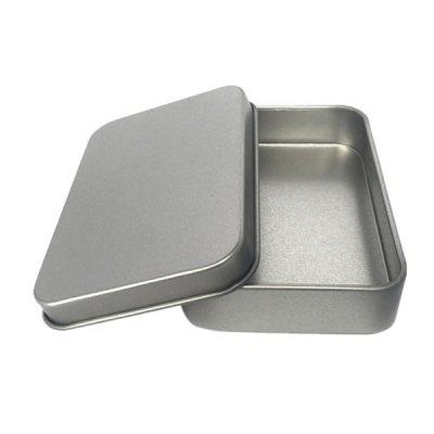 Rectangle Shape Tin Box Storage Tool