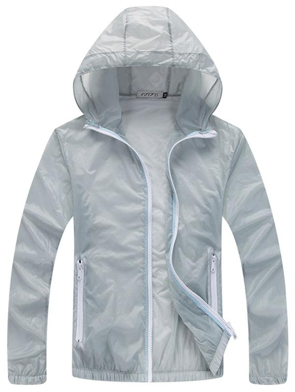 Men's Ultra-Thin Speed Dry Anti-UV Breathable Sun-proof Jacket