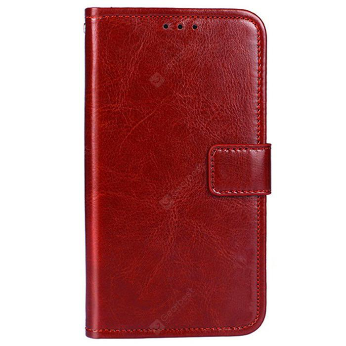 Crazy Horse Texture Retro PU Leather Case for Ulefone Power 2