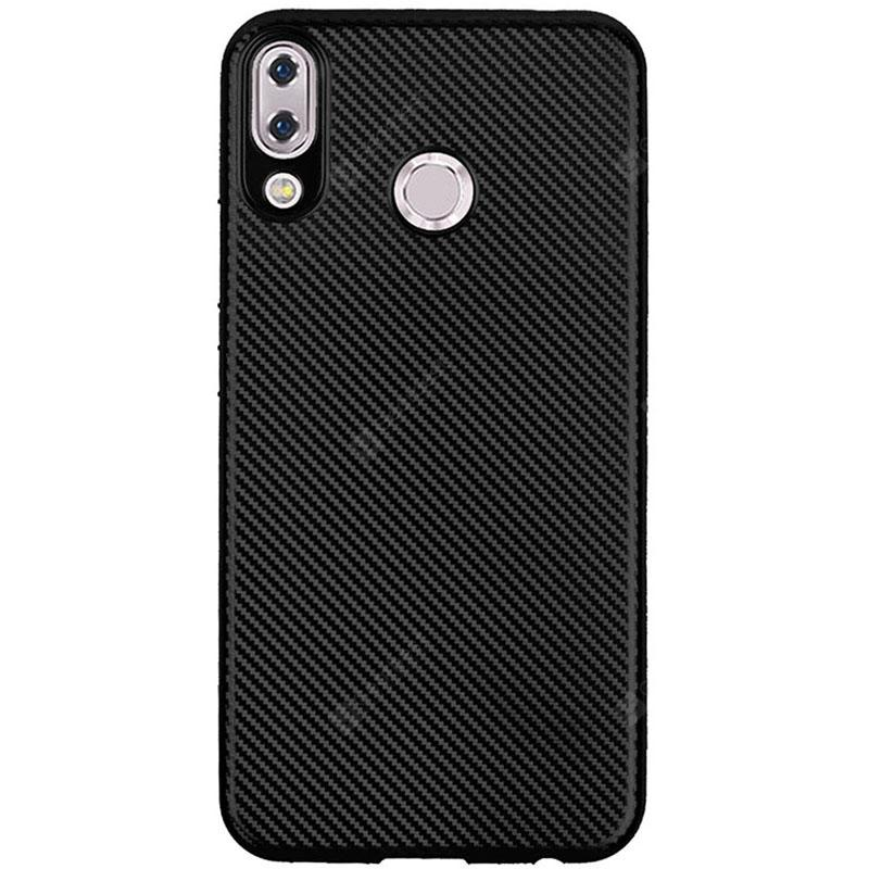 Case for Asus Zenfone 5Z ZS620KL Soft Carbon Fiber Cover