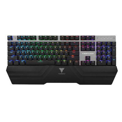 TEAMWOLF X20W 2.4G Wireless / USB Wired Gaming Mechanical Keyboard