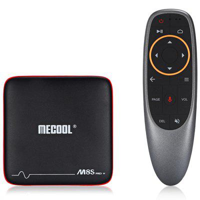 Mecool M8S PRO W 2.4G with Andriod TV OS Support TV Box