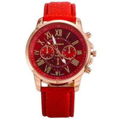 Geneva Fashion Ladies Dress Quartz Montre au poignet