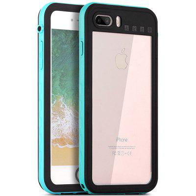 Waterproof PC + TPU Protective Case for iPhone 7 Plus / 8 Plus newsets mercury flash powder tpu protector case for iphone 7 4 7 inch baby blue
