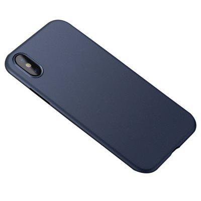 CAFELE PP Frosted Phone Protective Case for iPhone X protective matte frosted back case for htc one x s720e black
