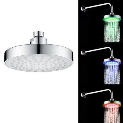 SDH2 - B2 6 inch Temperature Controlled 12-LED Shower Head 1 6 scale male head sculpt for 12 inch action figure 16 65 body accessory realistic facial head model toys gifts collections