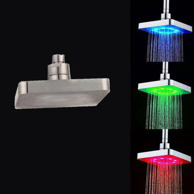 SDH2 - B1 6 inch Temperature Controlled 12-LED Shower Head 1 6 scale male head sculpt for 12 inch action figure 16 65 body accessory realistic facial head model toys gifts collections