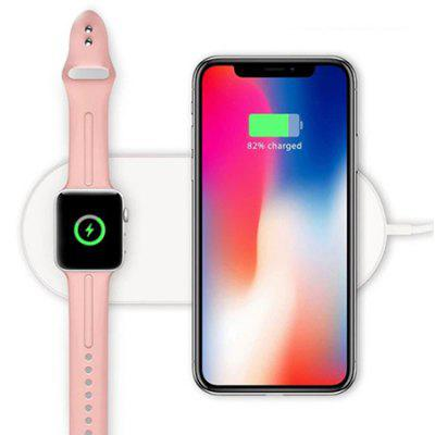 2 in 1 Wireless Charger for iPhone / iWatch