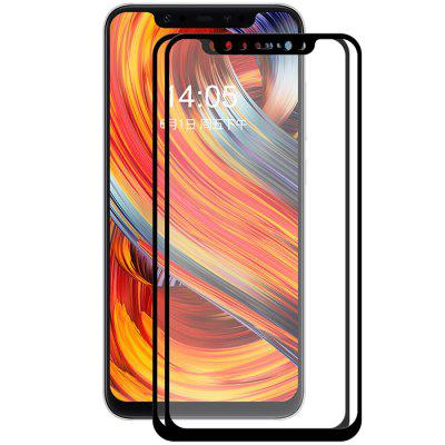 Hat – Prince Full Tempered Glass Screen Protector for Xiaomi Mi 8 2pcs