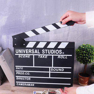 Movie Clapperboard Decorative Density Board