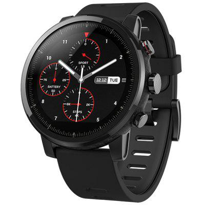 AMAZFIT Stratos / Pace 2  Smartwatch Global Version ( Xiaomi Ecosystem Product ) -  Black