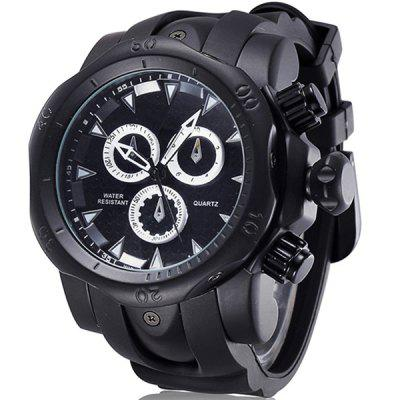 Brand Genuine Men Watches Sports Watch Quartz-Watch Special for You Climbing Wristwatches Silicone Strap Big Face Reloje