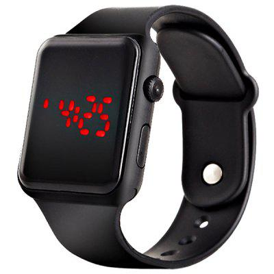 V5 Marka Unisex Rubber LED Bracelet Digital Wrist Watch