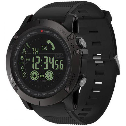Gearbest Zeblaze VIBE 3 Smart Watch Android iOS Compatibility - BLACK Ultra Long Standby Time Up to 33 Months! All Data in Full View Luminous Dial!